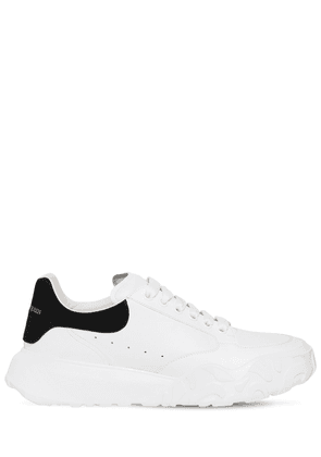 40mm Oversized Court Leather Sneakers