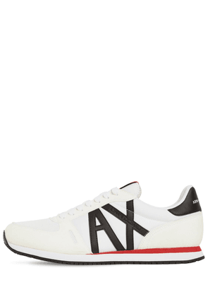 Logo Tech Lace-up Sneakers
