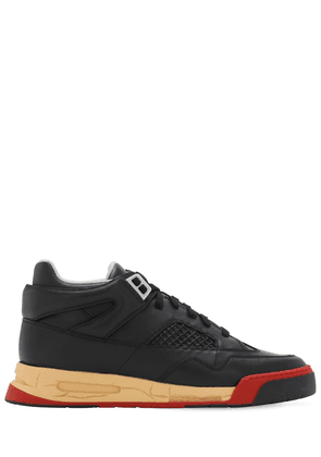 35mm Ddstck Leather Mid-high Sneakers