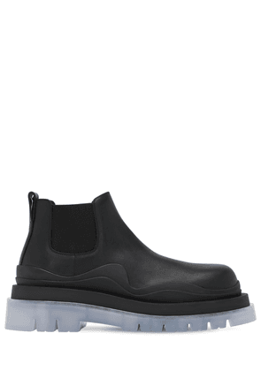 Bv Tire Leather Chelsea Mid Boots