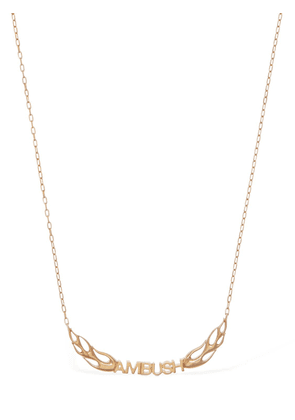 Flame Logo Chain Necklace