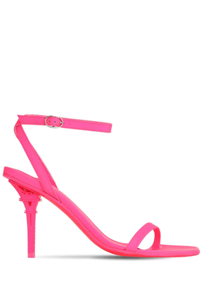 100mm Eiffel Tower Patent Leather Sandal