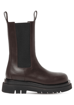 Bv Lug High Leather Chelsea Boots
