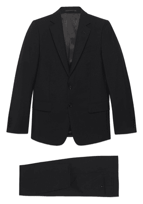 Gucci slim-fit single-breasted suit - Black