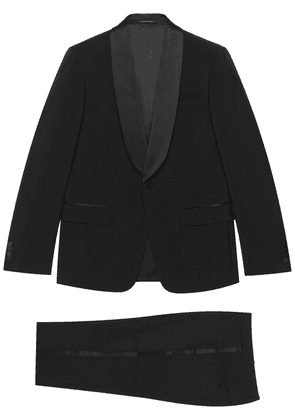 Gucci single-breasted trouser suit - Black