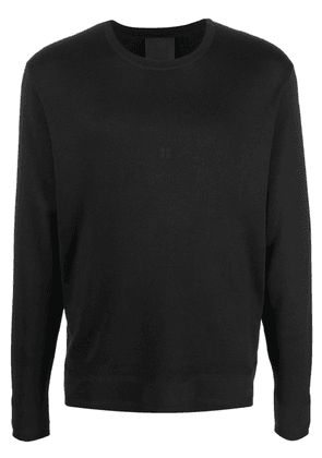 Givenchy embroidered 4G silk jumper - Black