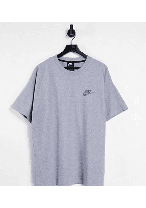 Nike Tall Revival t-shirt in grey