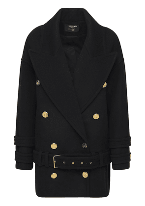 Belted Wool & Cashmere Coat