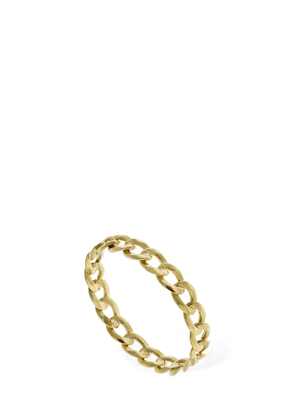 18kt Gold Chain Band Ring