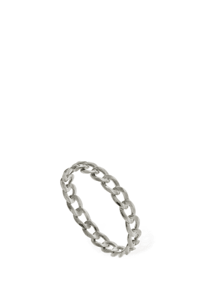18kt White Gold Chain Band Ring