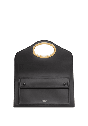 Burberry small Handle-Detail Pocket clutch - Black