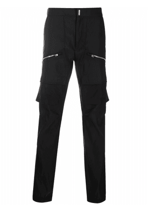 Givenchy zip-pocket cargo trousers - Black