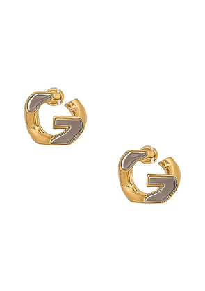 Givenchy G Chain Medium Earrings in Gold - Metallic Gold. Size all.