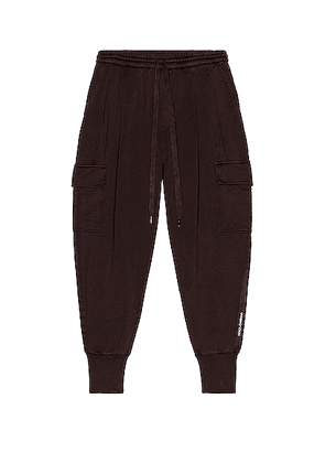 Dolce & Gabbana Cargo Pants in Maroon - Brown. Size 48 (also in 50, 54).