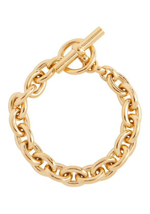 Small 18kt gold-plated chain bracelet