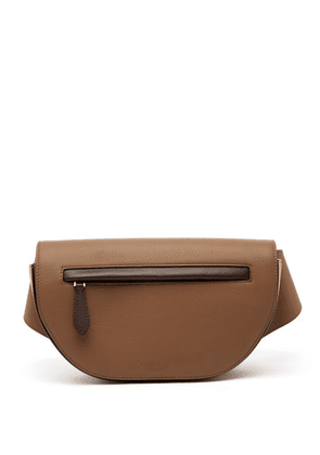 Burberry - Olympia Leather Belt Bag - Mens - Light Brown
