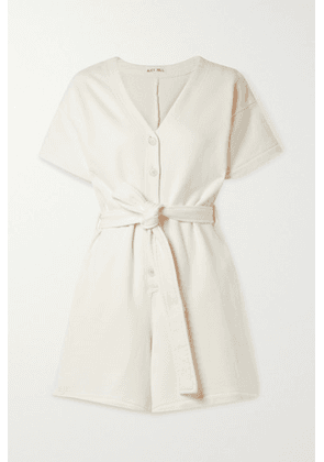 Alex Mill - French Cotton-terry Playsuit - Ecru
