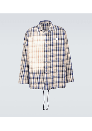 Seara Face checked flannel jacket