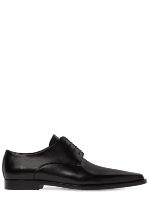 New Punk Brushed Leather Derby Shoes