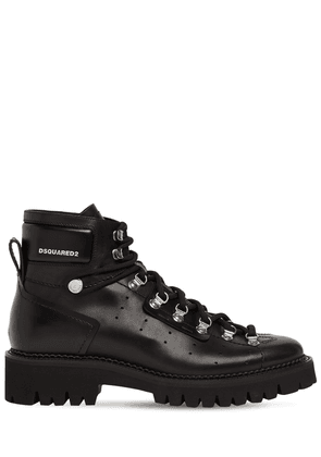 Hector Brushed Leather Hiking Boots