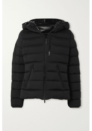 Moncler - Herbe Hooded Quilted Shell Down Jacket - Black