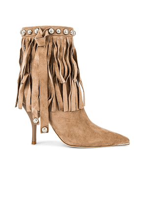 Jeffrey Campbell Trotting Boot in Beige. Size 6, 6.5, 7, 7.5, 8, 8.5, 9, 9.5.