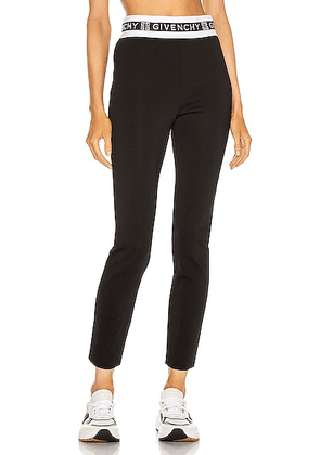 Givenchy Logo Waistband Legging in Black - Black. Size L (also in ).