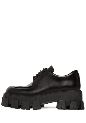 55mm Monolith Leather Lace-up Shoes