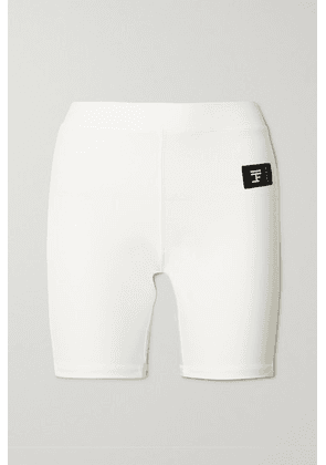 FULL COURT SPORT - Stretch-jersey Shorts - White