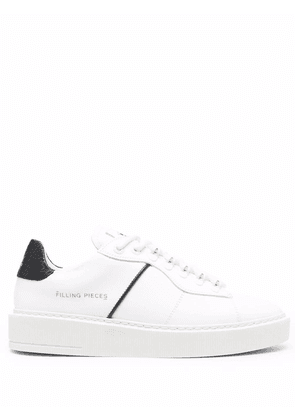 Filling Pieces logo low-top sneakers - White
