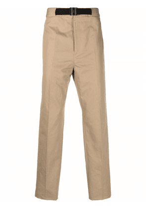 Givenchy belted chino trousers - Neutrals