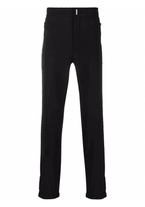 Givenchy embroidered 4G-motif trousers - Black