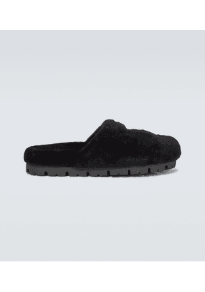 Shearling slippers