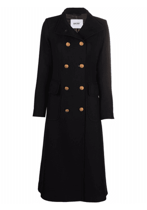 Bazar Deluxe double-breasted long coat - Black
