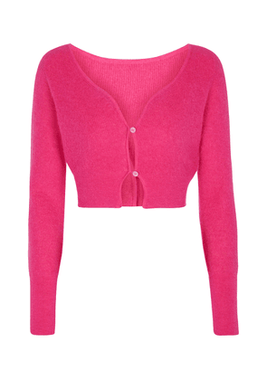 Le Cardigan Alzou mohair and wool-blend cardigan
