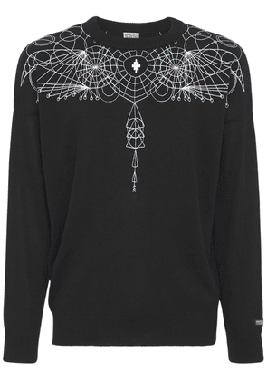 Astral Wings Cotton Knit Slim Sweater