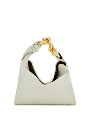 JW Anderson Small Chain-embellished Leather Top Handle Bag