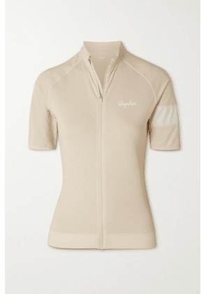 Rapha - Core Lightweight Recycled Mesh And Stretch-knit Cycling Jersey - Cream