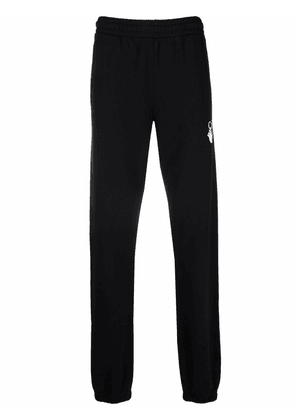 Off-White Arrows-printed track pants - Black