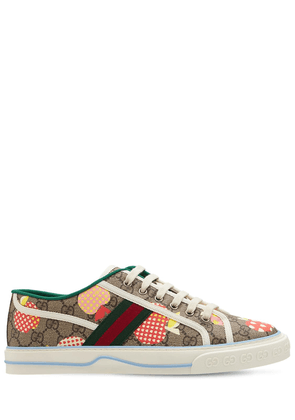 Apples Gg Canvas Sneakers W/web Detail