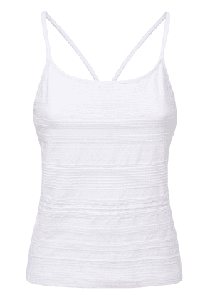 Fitted Tank Top W/ In-built Bra