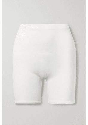 LESET - Rio Stretch-jersey Shorts - Off-white