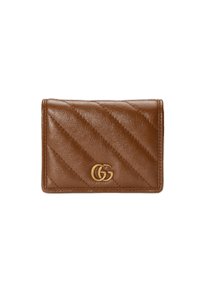 GG Marmont card case wallet