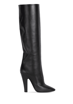 110mm 68 Tube Leather Tall Boots