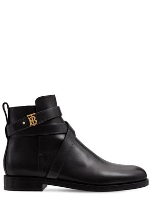 20mm New Pryle Leather Ankle Boots
