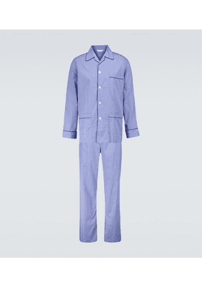 Felsted 3 checked cotton pajama set