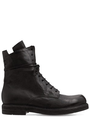 Bruto Leather Lace Up Boots