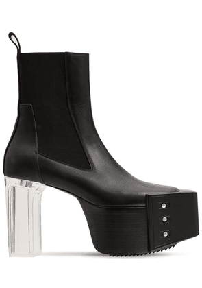 125mm Grill Kiss Leather Boots