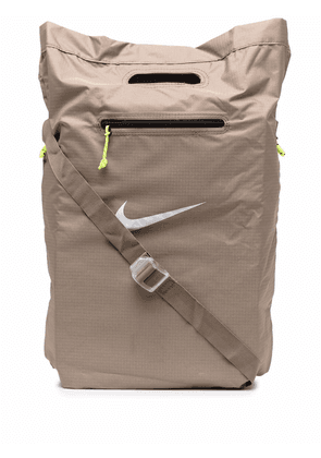 Nike Stash embroidered tote bag - Neutrals
