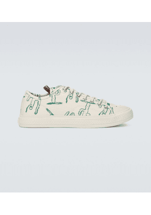 Ballow printed canvas sneakers